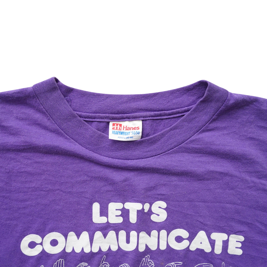 Vintage 90s Let's Communicate T-Shirt