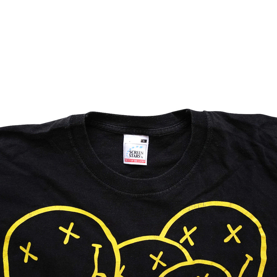 Vintage 2000s Nirvana Smiley T-Shirt