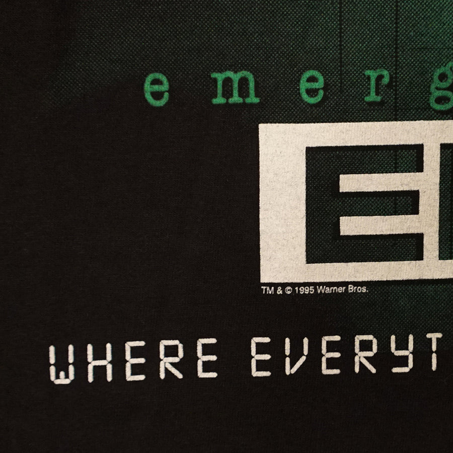 Vintage 1995 E.R. 'Where Everything Is Stat' T-Shirt