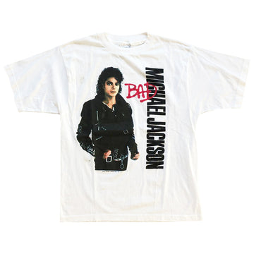 Vintage 1987 Michael Jackson 'BAD' T-Shirt