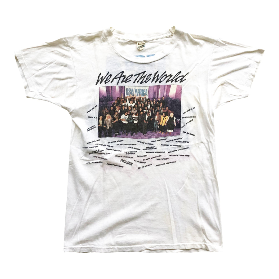 Vintage 1985 We Are The World T-Shirt