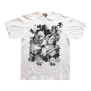 Vintage 90s Disney Mickey & Mini Mouse T-Shirt