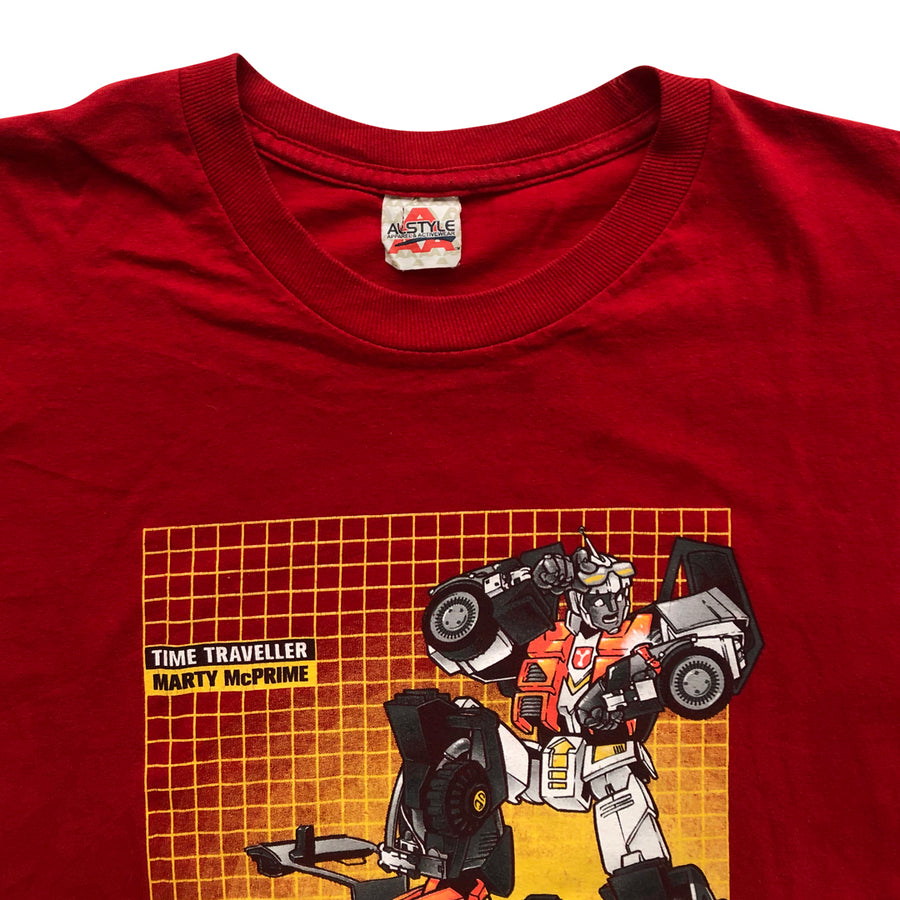 Vintage 2000s Time Traveller Marty McPrime T-Shirt