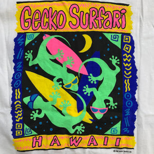 Vintage 1989 Gecko Surfari Hawaii T-Shirt