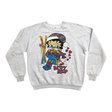 Vintage 90s Betty Boop 'Betty's Ski' Sweater