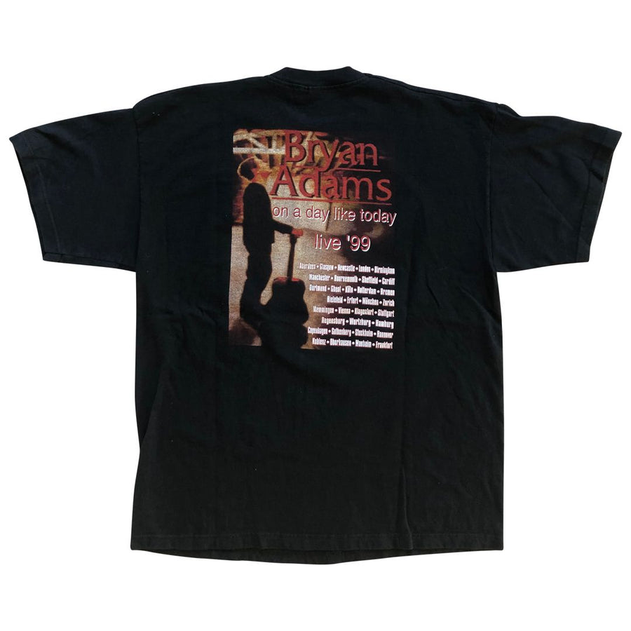 Vintage 1999 Bryan Adams 'On A Day Like Today' T-Shirt