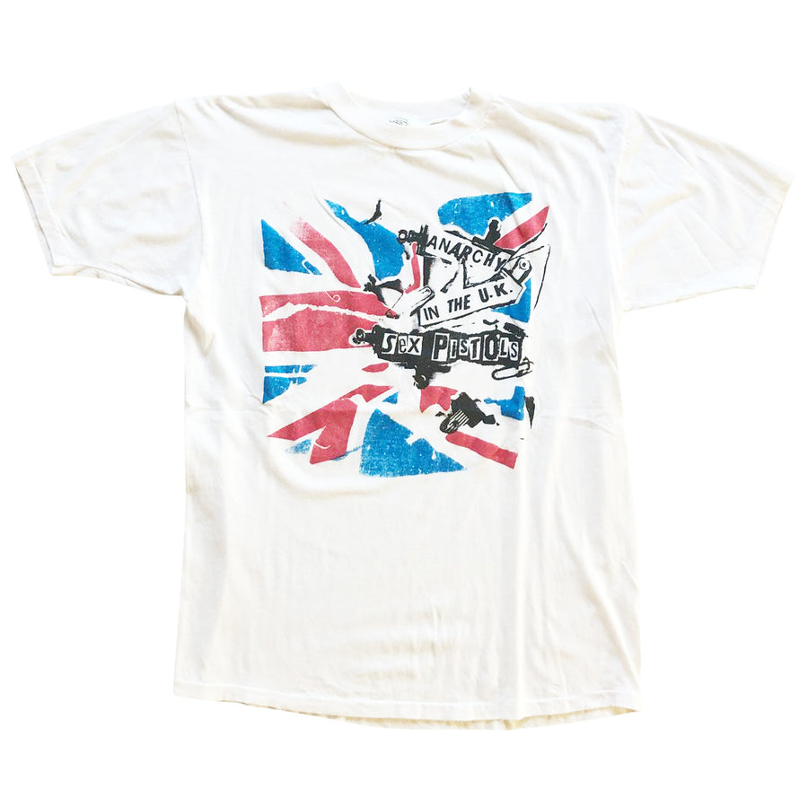 Vintage 80s Sex Pistols 'Anarchy In The U.K. T-Shirt