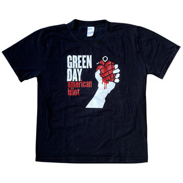 Vintage 2000s Green Day 'American Idiot' T-Shirt
