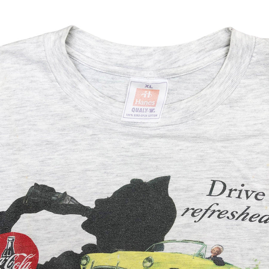 Vintage 90s Coca-Cola 'Drive Refreshed' T-Shirt