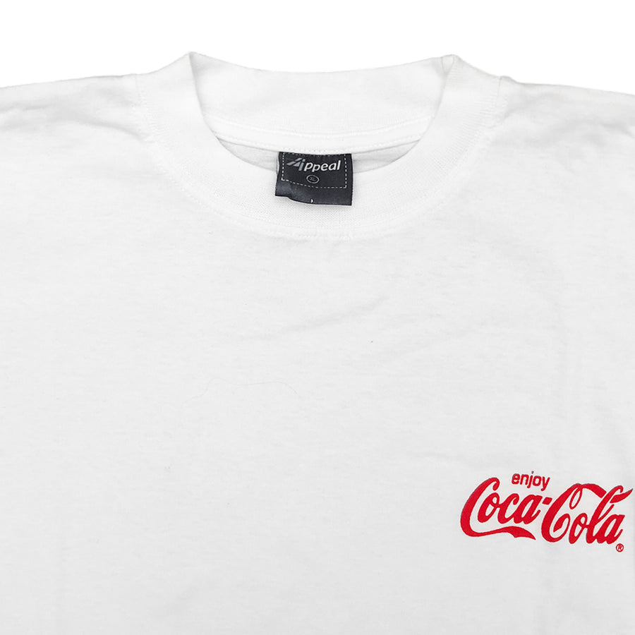 Vintage 90s Enjoy Coca-Cola Mini Logo T-Shirt