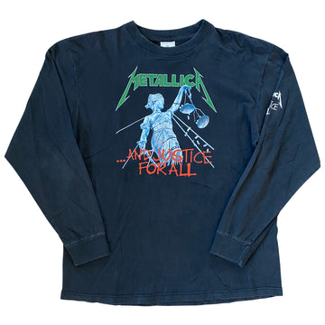 Vintage 90s Metallica '...And Justice For All' Longsleeve