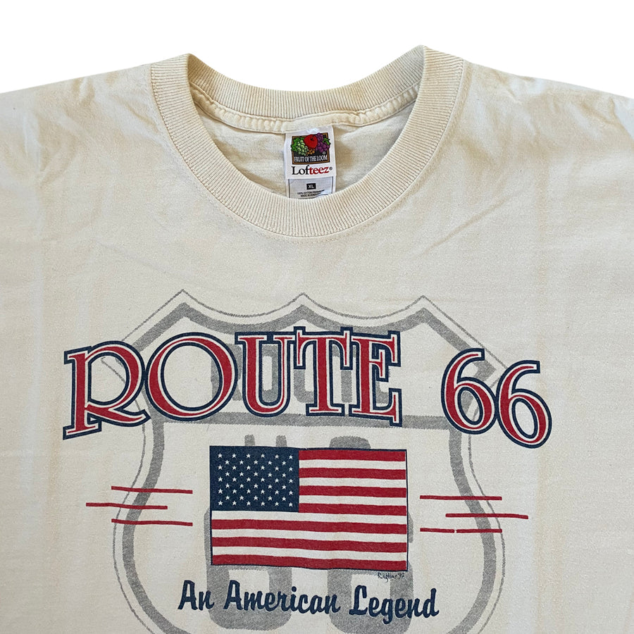 Vintage 90s Route 66 'An American Legend' T-Shirt