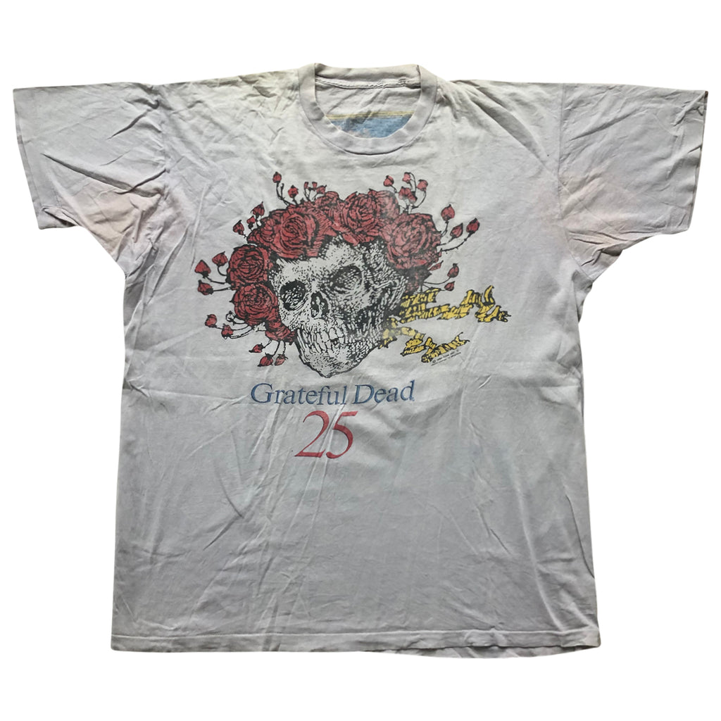Vintage 1990 Grateful Dead '25 Year Anniversary' T-Shirt