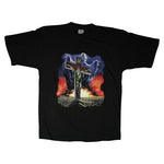 Vintage 1990 Slayer 'European Campaign' T-Shirt