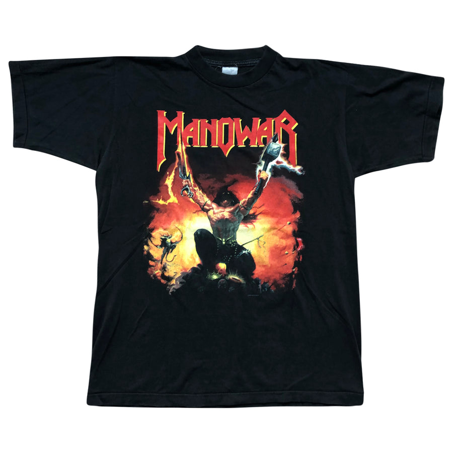 Vintage 1994 Manowar 'Agony And Ecstasy World Tour' T-Shirt