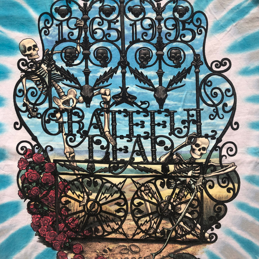Vintage 1995 Grateful Dead '30 Year Anniversary' T-Shirt
