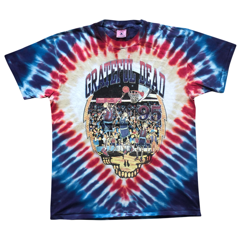 Vintage 1995 Grateful Dead 'Basketball' T-Shirt