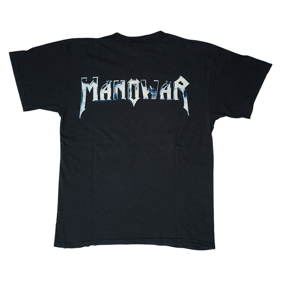 Vintage 90s Manowar 'Warriors Of The World' T-Shirt