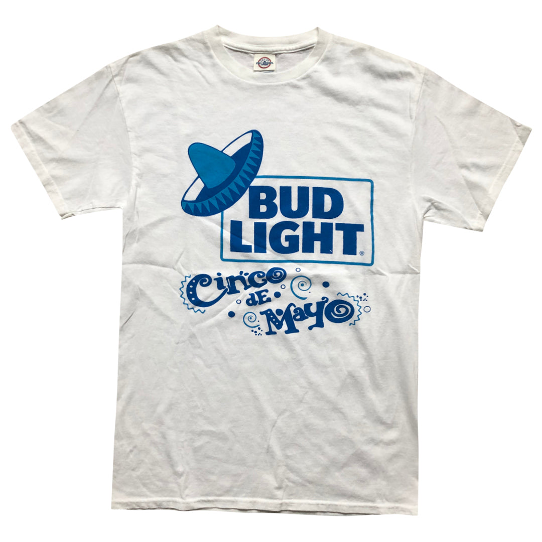 Vintage 90s Bud Light 'Cinco De Mayo' T-Shirt