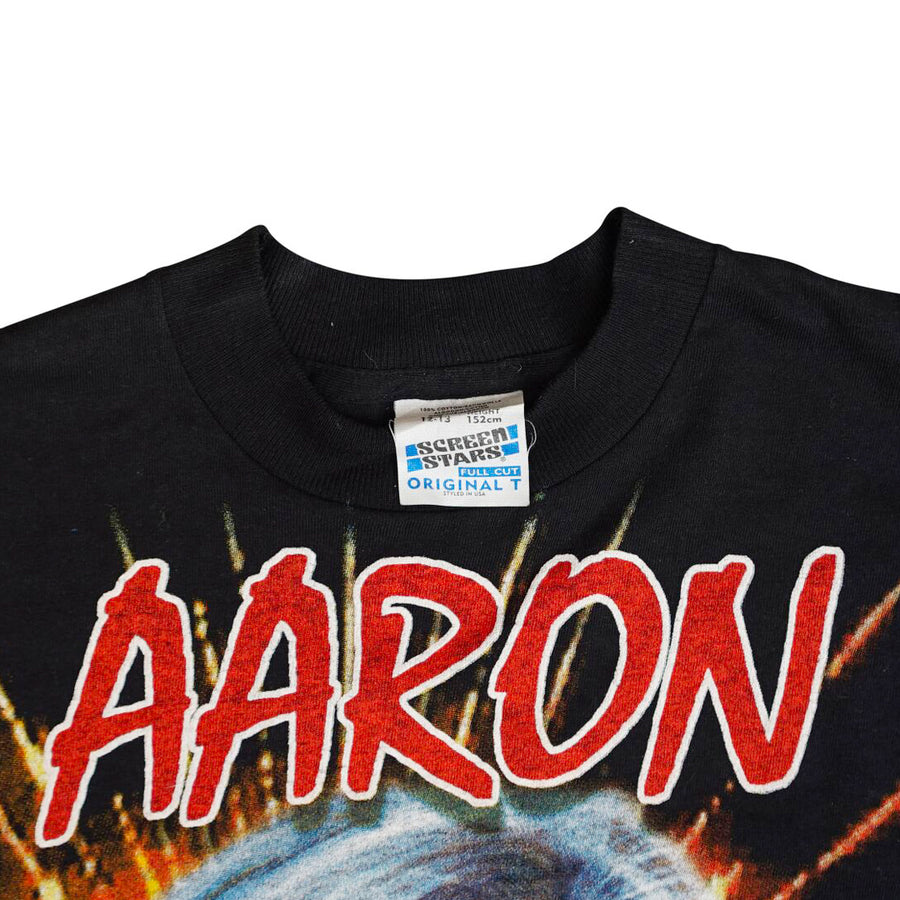 Vintage 90s Aaron Carter 'The Best Of Aaron' T-Shirt