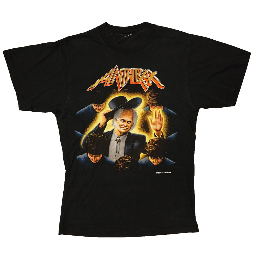 Vintage 2002 Anthrax 'Bee Line Across America' T-Shirt
