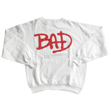 Vintage 1987 Michael Jackson 'BAD' Sweater