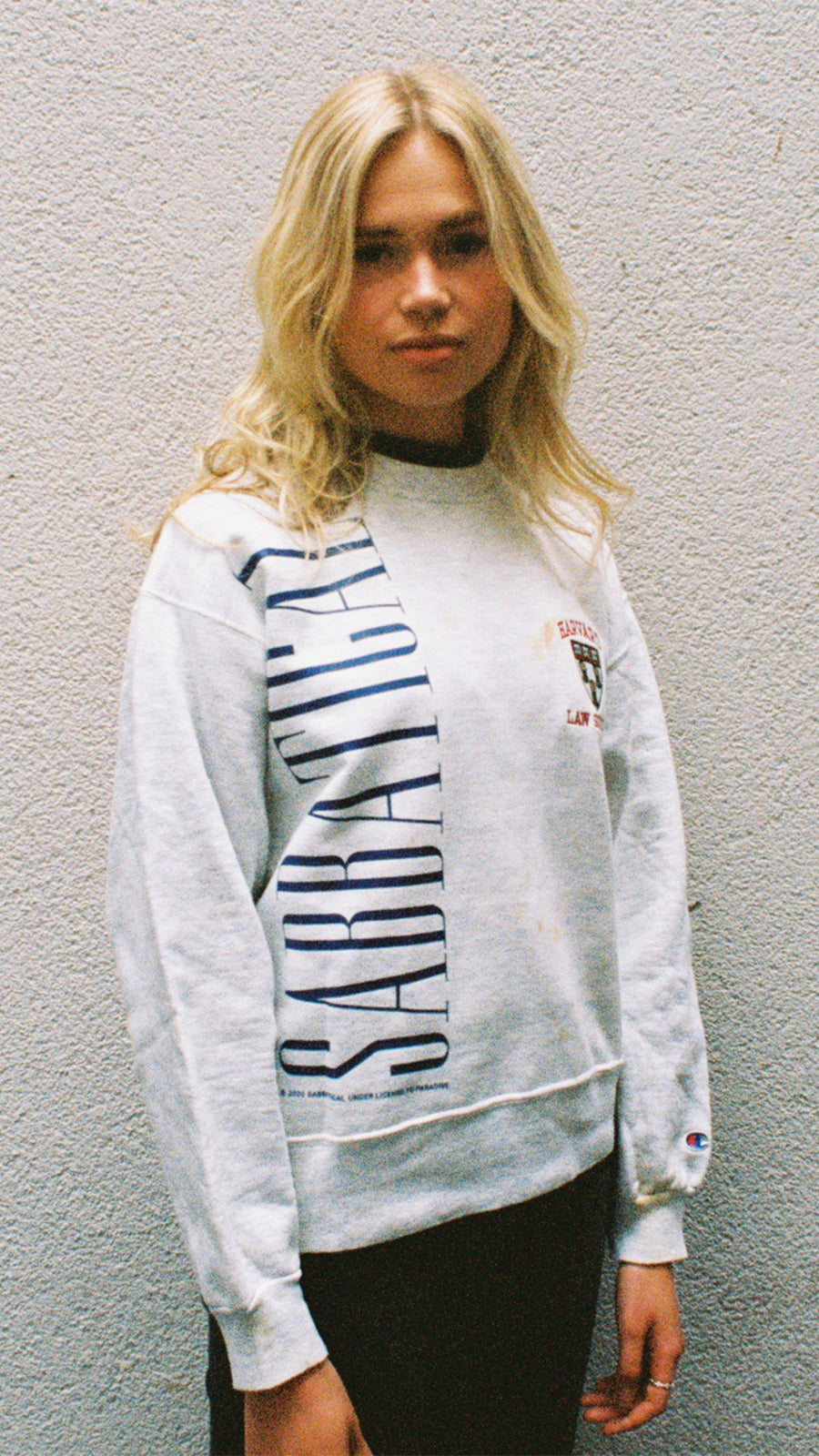 Vintage 90s Sabbatical Champion 'Emily' Sweater