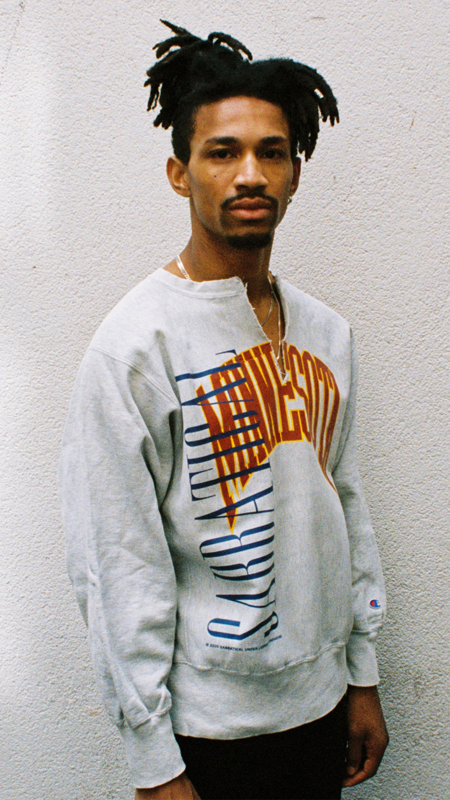 Vintage 90s Sabbatical Champion 'Cody' Sweater