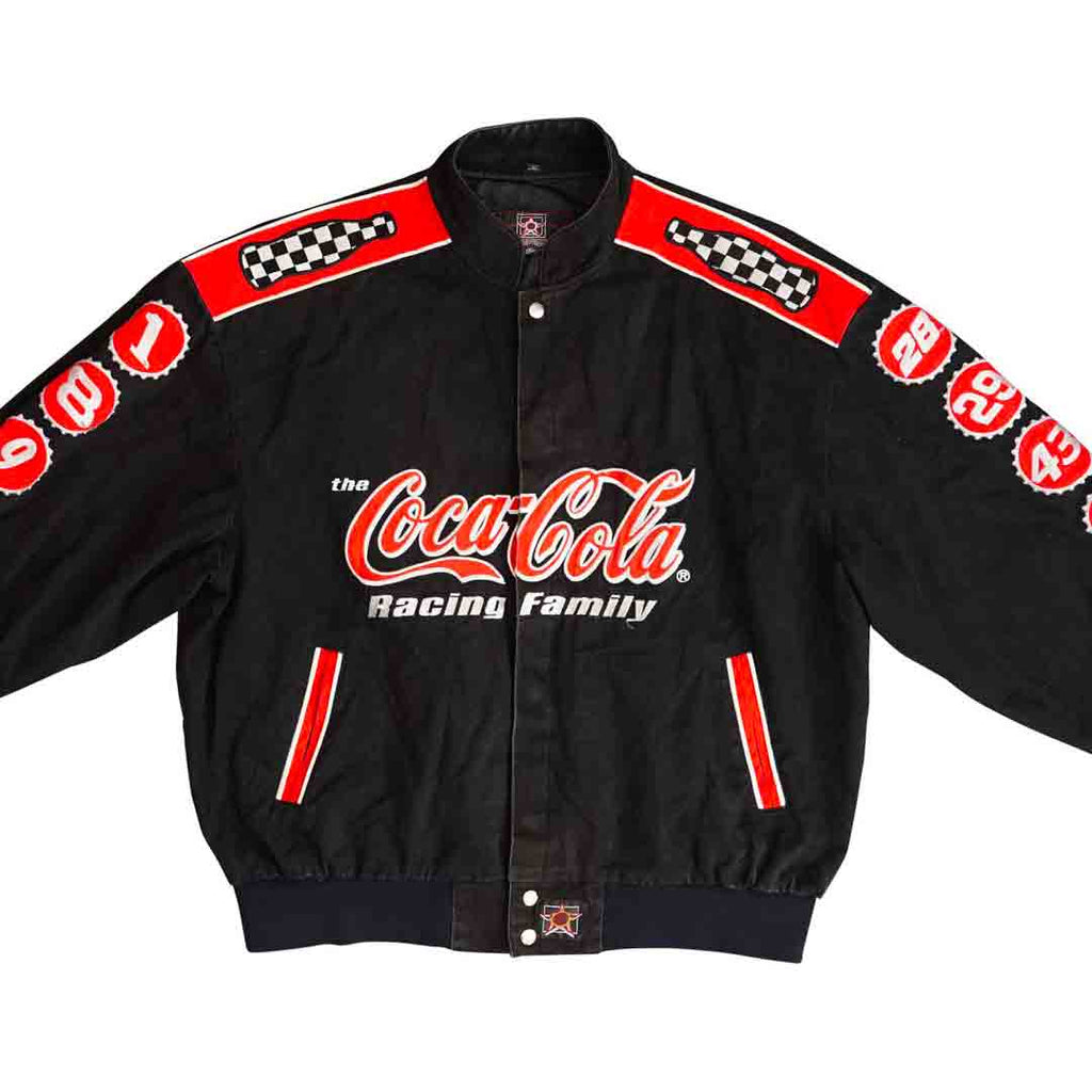 Vintage 90s Coca Cola 'The Racing Family' Jacket
