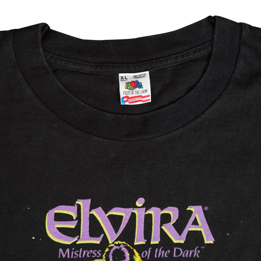 Vintage 1988 Elvira 'Mistress Of The Dark' T-Shirt