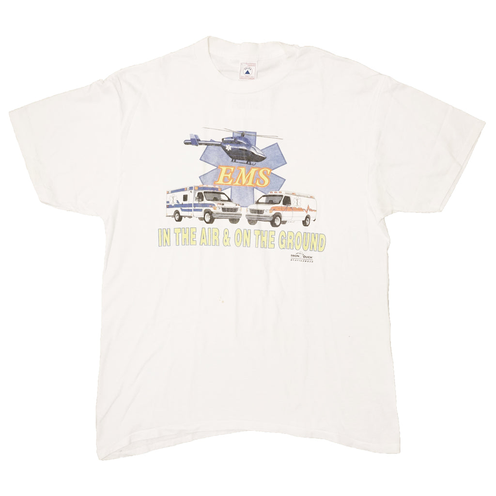 Vintage 90s EMS 'In The Air & On The Ground T-Shirt