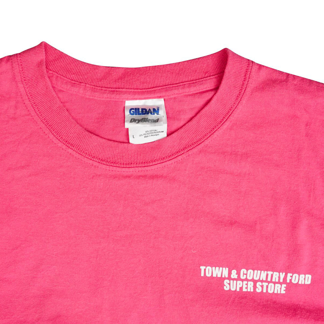 Vintage 90s Ford 'Build Without Your Tax Dollars' T-Shirt