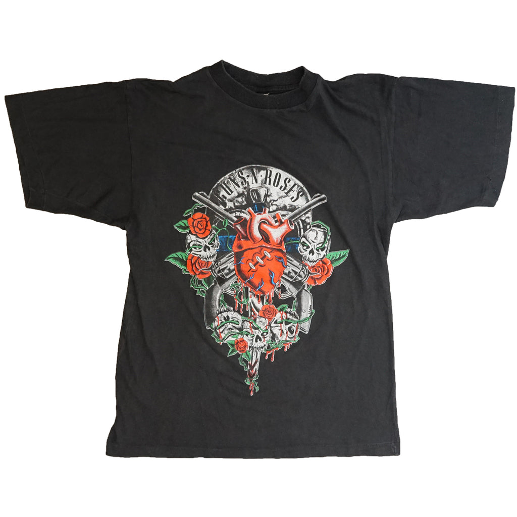Vintage 90s Guns N' Roses 'Here Today Gone To Hell' T-Shirt