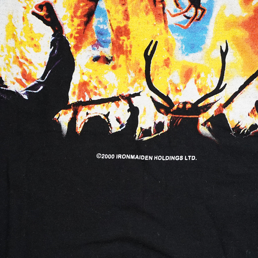 Vintage 2000 Iron Maiden 'The Wicker Man' T-Shirt