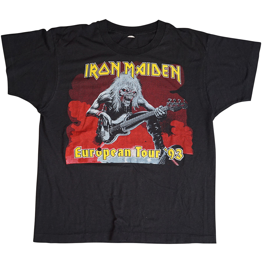 Vintage 1993 Iron Maiden 'European Tour' T-Shirt
