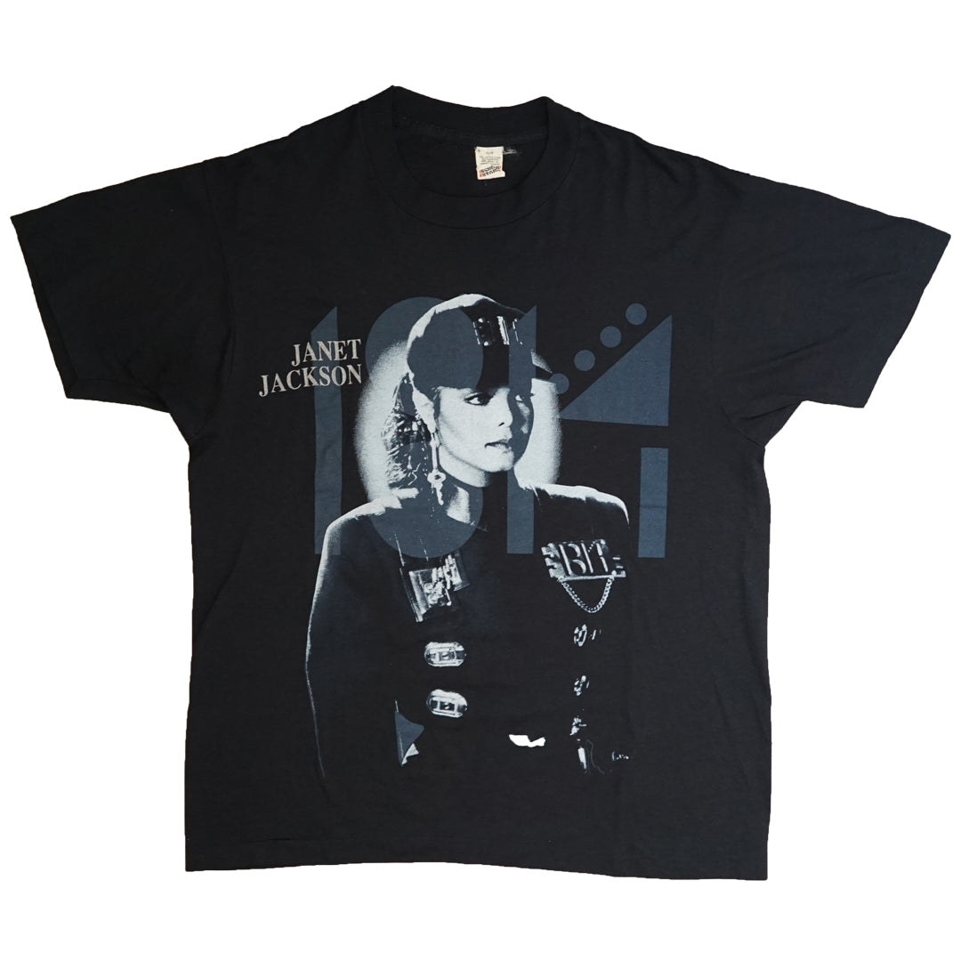 Vintage 1990 Janet Jackson 'Rhythm Nation Tour' T-Shirt