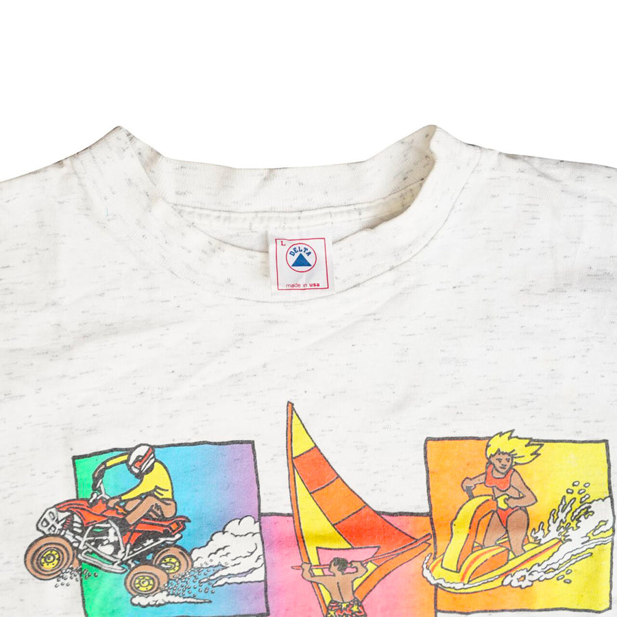 Vintage 90s Kualoa Ranch Hawaii T-Shirt