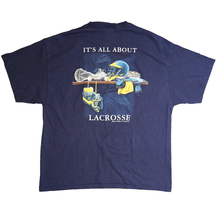 Vintage 2000s 'It's All About Lacrosse' T-Shirt