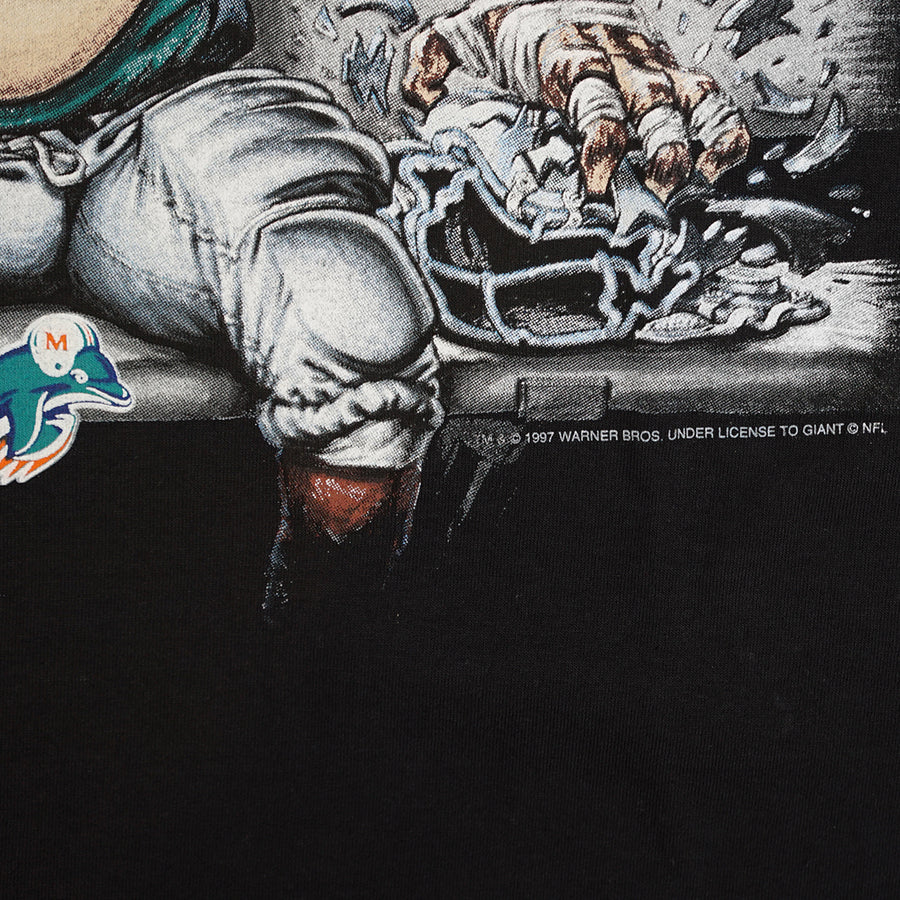 Vintage 1997 Looney Tunes 'Miami Dolphins' T-Shirt