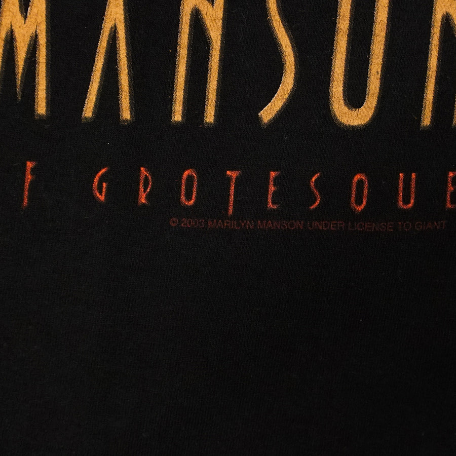 Vintage 2003 Marilyn Manson 'The Golden Age Of Grotesqoue' T-Shirt