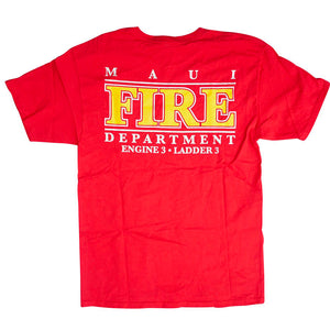 Vintage 90s Mauï Fire Department T-Shirt