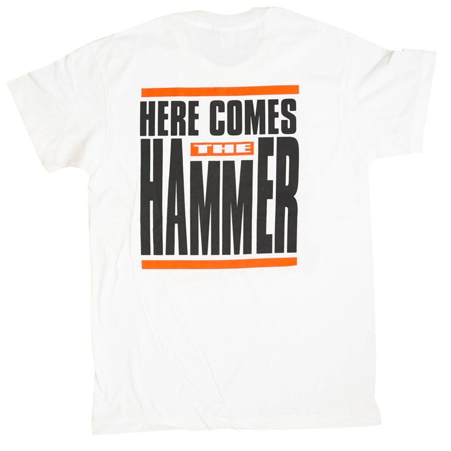 Vintage 1991 MC Hammer 'Here Comes The Hammer' T-Shirt