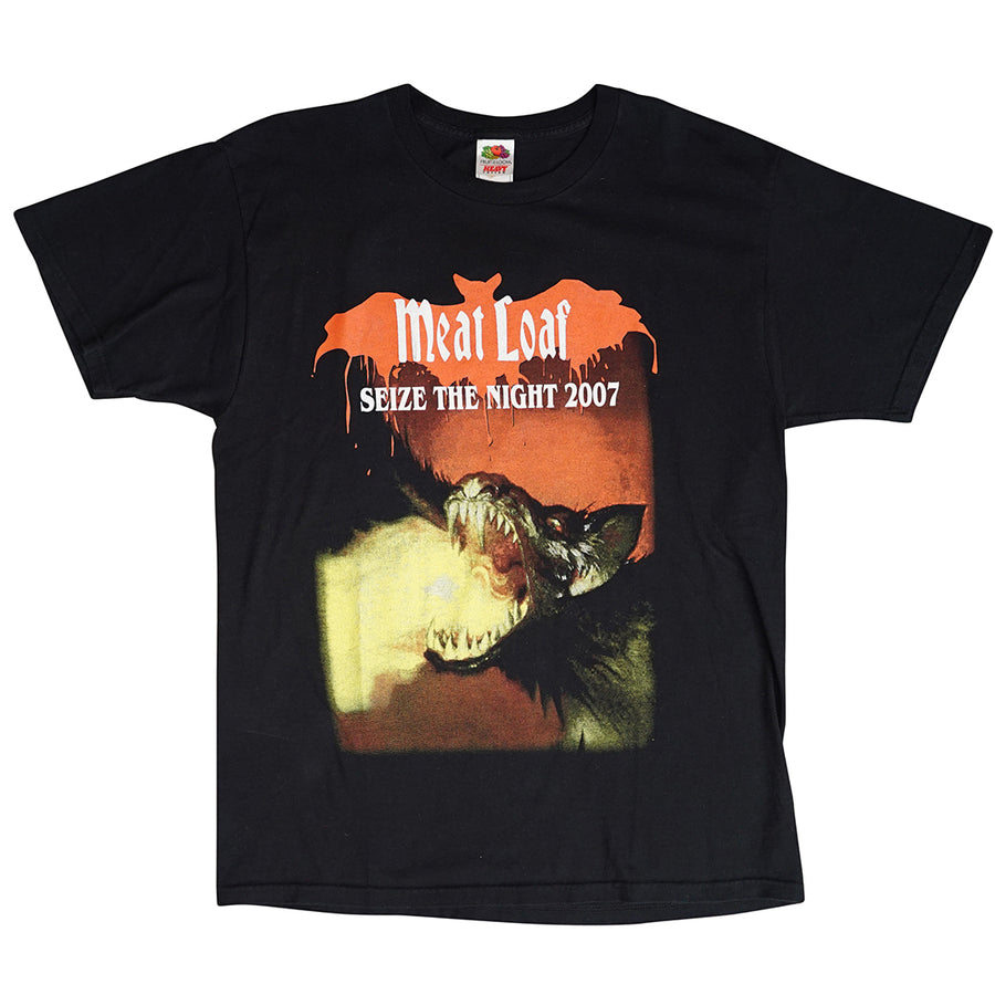 Vintage 2007 Meat Loaf 'Seize The Night' T-Shirt