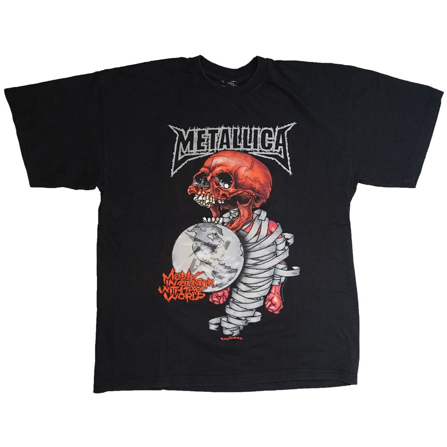 Vintage 2004 Metallica 'Madly In Anger With The World' by Pushead T-Shirt