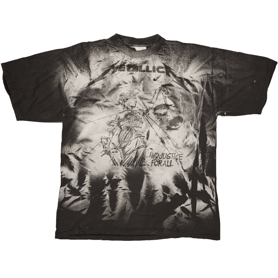 Vintage 90s Metallica '...And Justice For All' T-Shirt