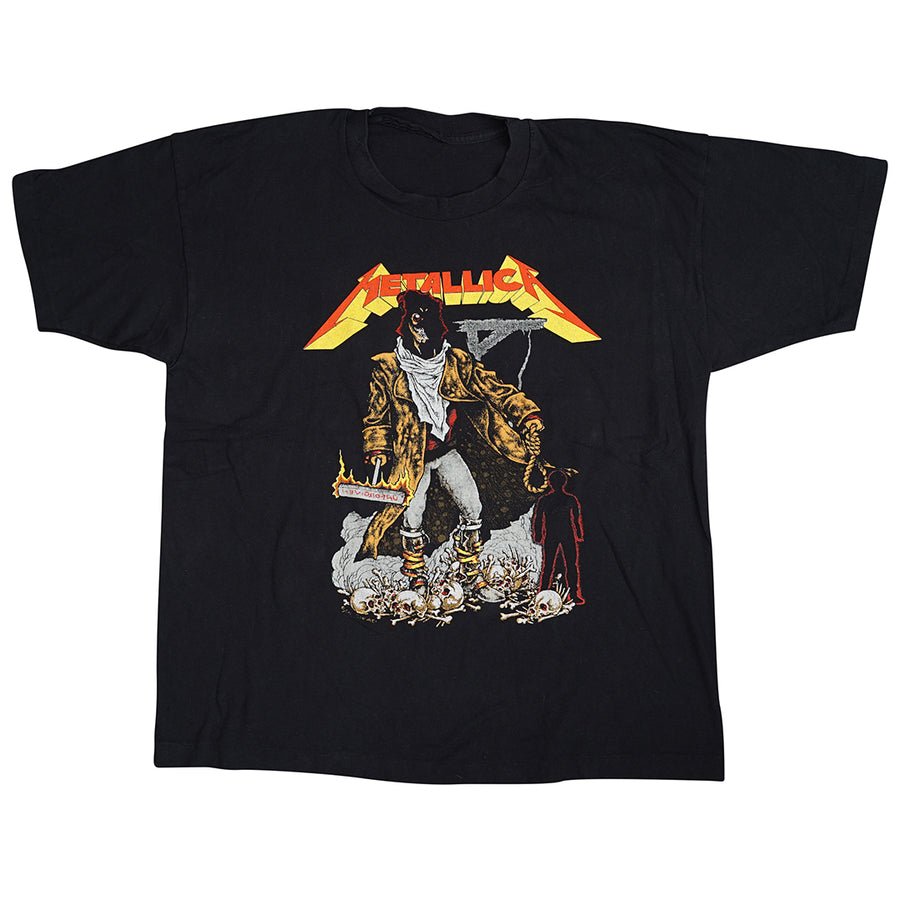 Vintage 1993 Metallica 'Unforgiven Tour' Europe Exclusive T-Shirt