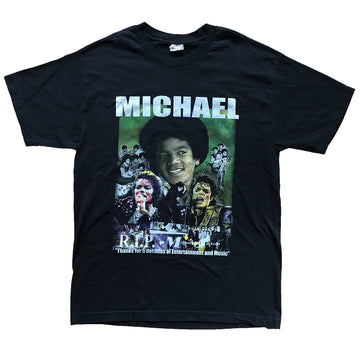 Vintage 00s Michael Jackson 'We Will Always Love You' T-shirt