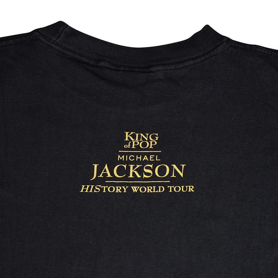 Vintage 1997 Michael Jackson 'History World Tour' T-Shirt