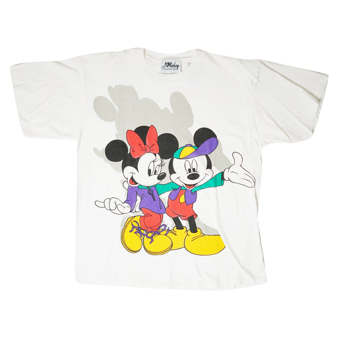 Vintage 90s Mickey & Mini Mouse T-Shirt