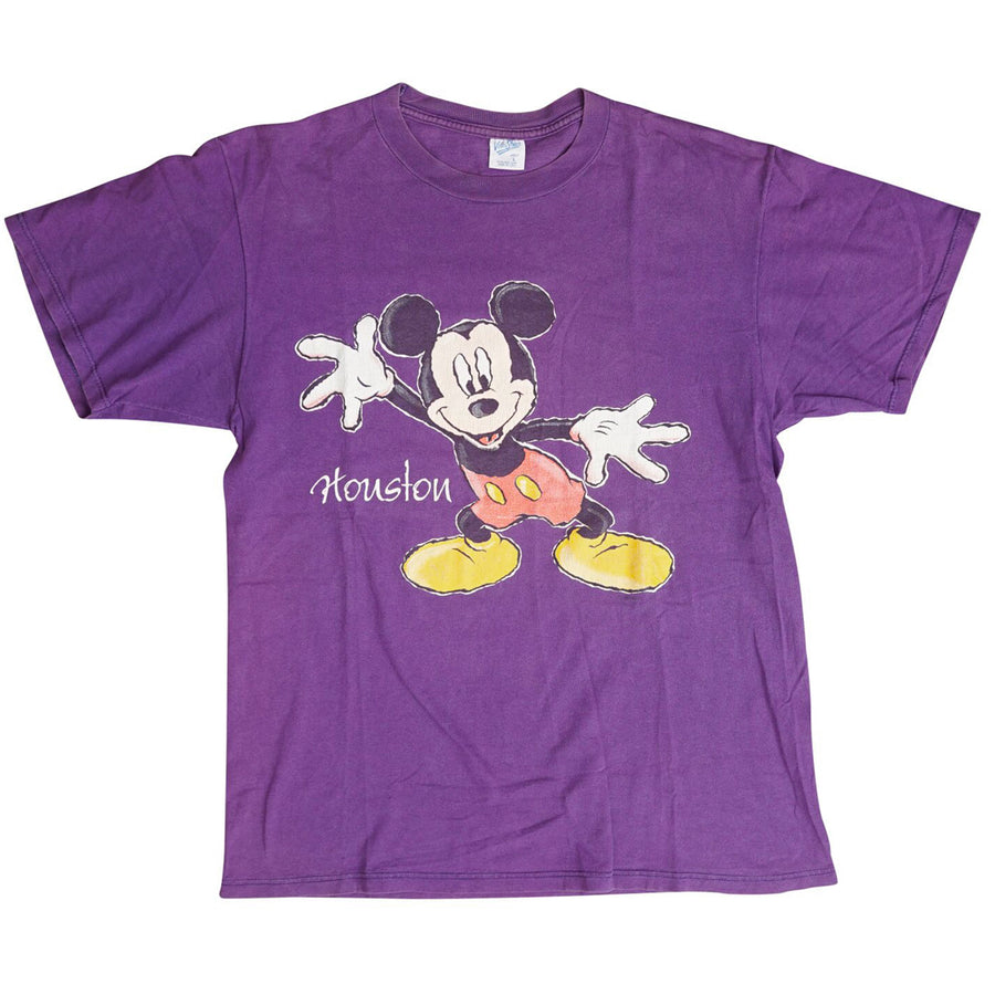 Vintage 90s Disney Houston 'Mickey Mouse' By Velva Sheen T-Shirt